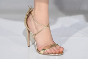 Jennifer Lawrence Strappy Sandals