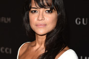 Michelle Rodriguez Long Wavy Cut