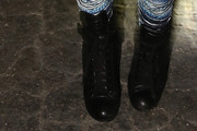 Iggy Azalea Lace Up Boots
