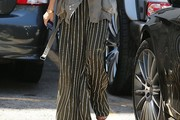 Kourtney Kardashian Print Pants