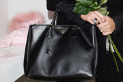 Alena Seredova Leather Tote