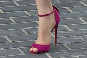 Jessica Chastain Evening Sandals
