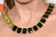 Lake Bell Gemstone Statement Necklace