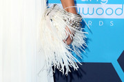 Vanessa Hudgens Feathered Clutch
