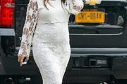 Kourtney Kardashian Maternity Dress