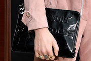 Florence Welch Leather Clutch