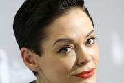Rose McGowan Short Side Part