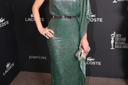 Kathleen Robertson Beaded Dress