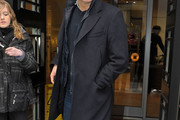 Colin Firth Wool Coat