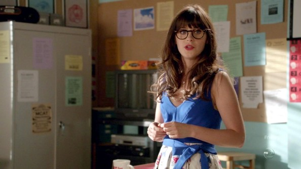 More Pics of Zooey Deschanel Day Dress (3 of 6) - Day Dress Lookbook - StyleBistro