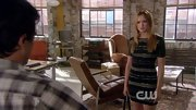 Kaylee Defer sizzled on 'Gossip Girl' in this slightly edgy striped bodycon dress.