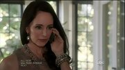Madeleine Stowe's stacked pearl bracelet was a gorgeous addition to her bridal style.