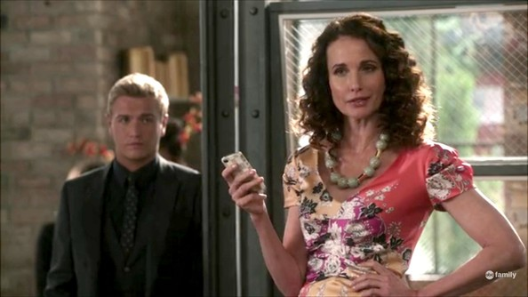 Andie MacDowell Print Dress
