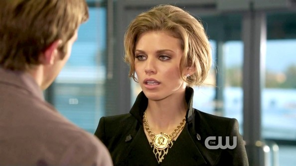 AnnaLynne McCord Gold Statement Necklace