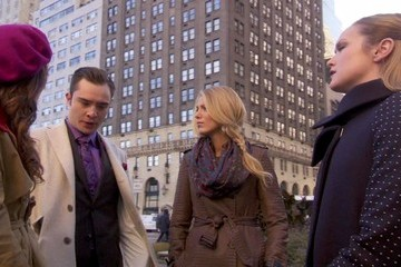 Blake Lively Ed Westwick Gossip Girl Season 6 Episode 9