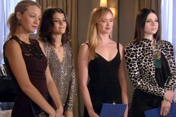 Blake Lively Michelle Trachtenberg Gossip Girl Season 6 Episode 9