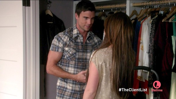 Colin Egglesfield Button Down Shirt