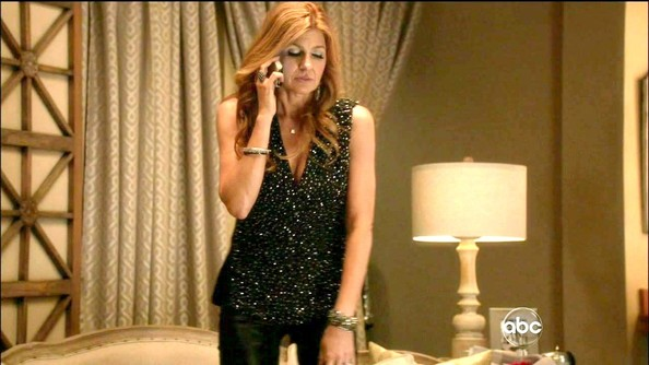 Connie Britton Fitted Blouse