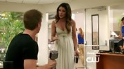 Shenae Grimes was a classic beauty on '90210' in this feminine maxi.