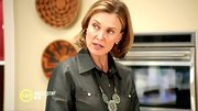 A turquoise necklace and chambray button-down gave Brenda Strong a definite Southwest-inspired look.