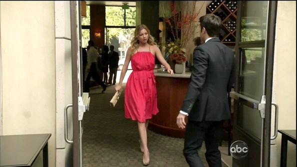 Emily VanCamp Day Dress