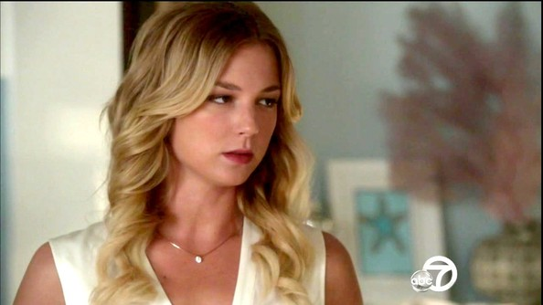 Emily VanCamp Diamond Pendant
