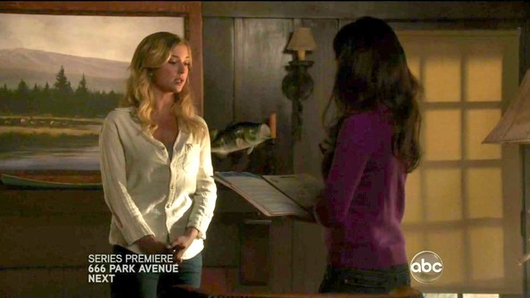 Emily VanCamp Button Down Shirt