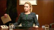 Hayden Panettiere kept it classy for her 'Nashville' court date in this tight tweed jacket.