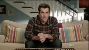 Ty Burrell looked like he was ready for the mountains in this plaid flannel button-down shirt.