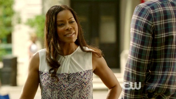 Golden Brooks Print Blouse
