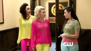 Whitney Vance and Alexandra Miller certainly stood out in their neon tops on 'The Carrie Diaries.'