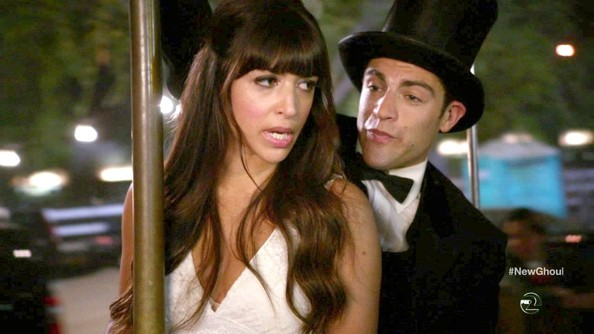 Hannah Simone Clothes
