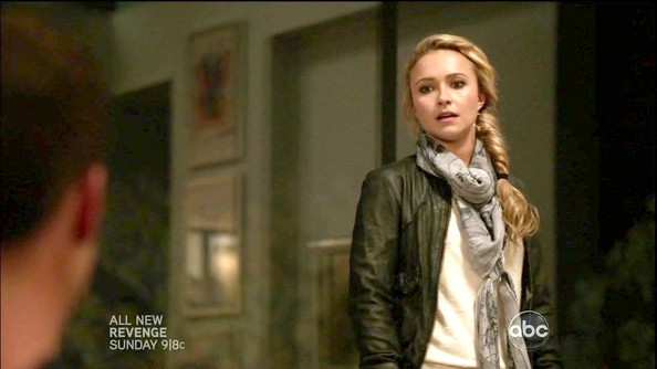 Hayden Panettiere Leather Jacket