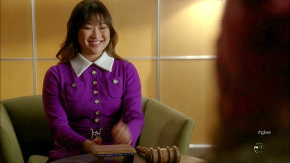 Jenna Ushkowitz Fitted Jacket