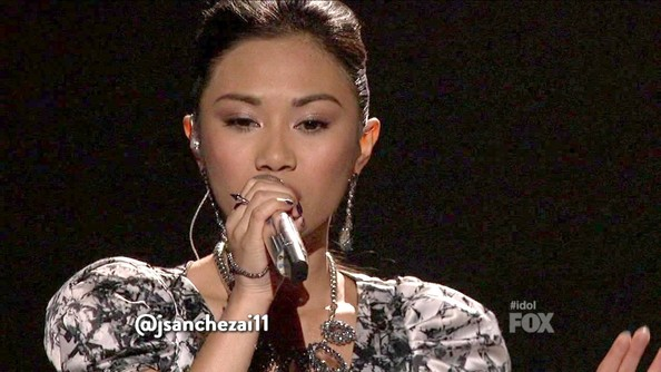 Jessica Sanchez Dangling Crystal Earrings