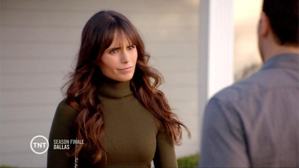 Jordana Brewster Turtleneck