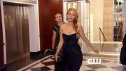 Blake Lively brought some Jessica Rabbit va-va-voom to 'Gossip Girl' in this strapless sequined gown.