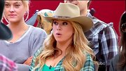 Sabrina Bryan got in theme for the 'DWTS' country episode in a classic cowboy hat.