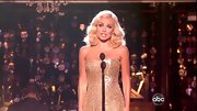 A radiant Katherine Jenkins hit the 'DWTS' stage in a glittery column gown.