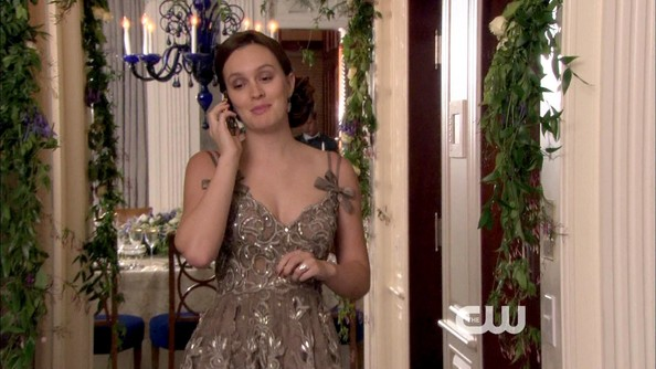 Leighton Meester Cocktail Dress