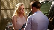 Mircea Monroe looked ultra-feminine on 'Hart of Dixie' in this lace-inset top.