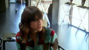 Mandana Dayani opted for some color and fun when she sported this geometric print blouse on 'The Rachel Zoe Project.'