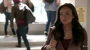Meagan Tandy's ladylike tweed jacket and tiered gold necklace seem pretty adult for a high school student, but sophistication is always in style.