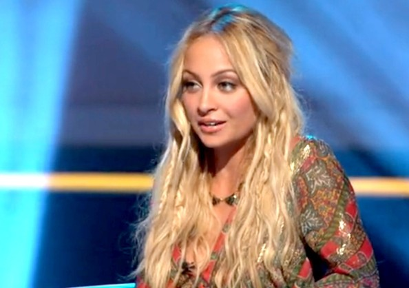 Nicole Richie Long Braided Hairstyle