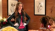 Jennifer Love Hewitt rocked this black leather jacket with stud detailing on 'The Client List.'
