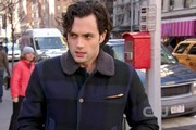 Penn Badgley Bomber Jacket