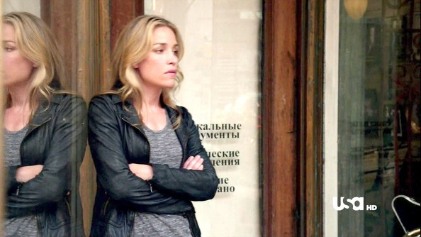 Piper Perabo Leather Jacket