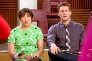 Matthew Morrison and Jenna Ushkowitz Photo