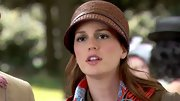 Leighton Meester was a '20s darling in this straw cloche.
