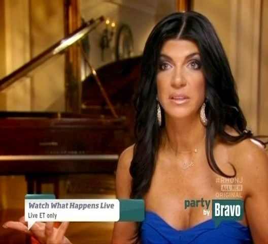Teresa Giudice Diamond Hoops